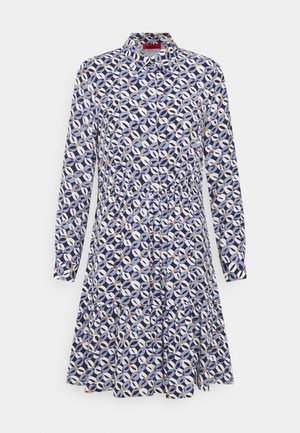 ROSATEA - Shirt dress - sky blue