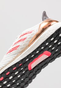 adidas Performance - SOLAR BOOST ST 19  - Neutral running shoes - crystal white/signal pink/copper metallic - 5