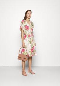 Mos Mosh - TACY ROSE DRESS - Day dress - ecru - 1