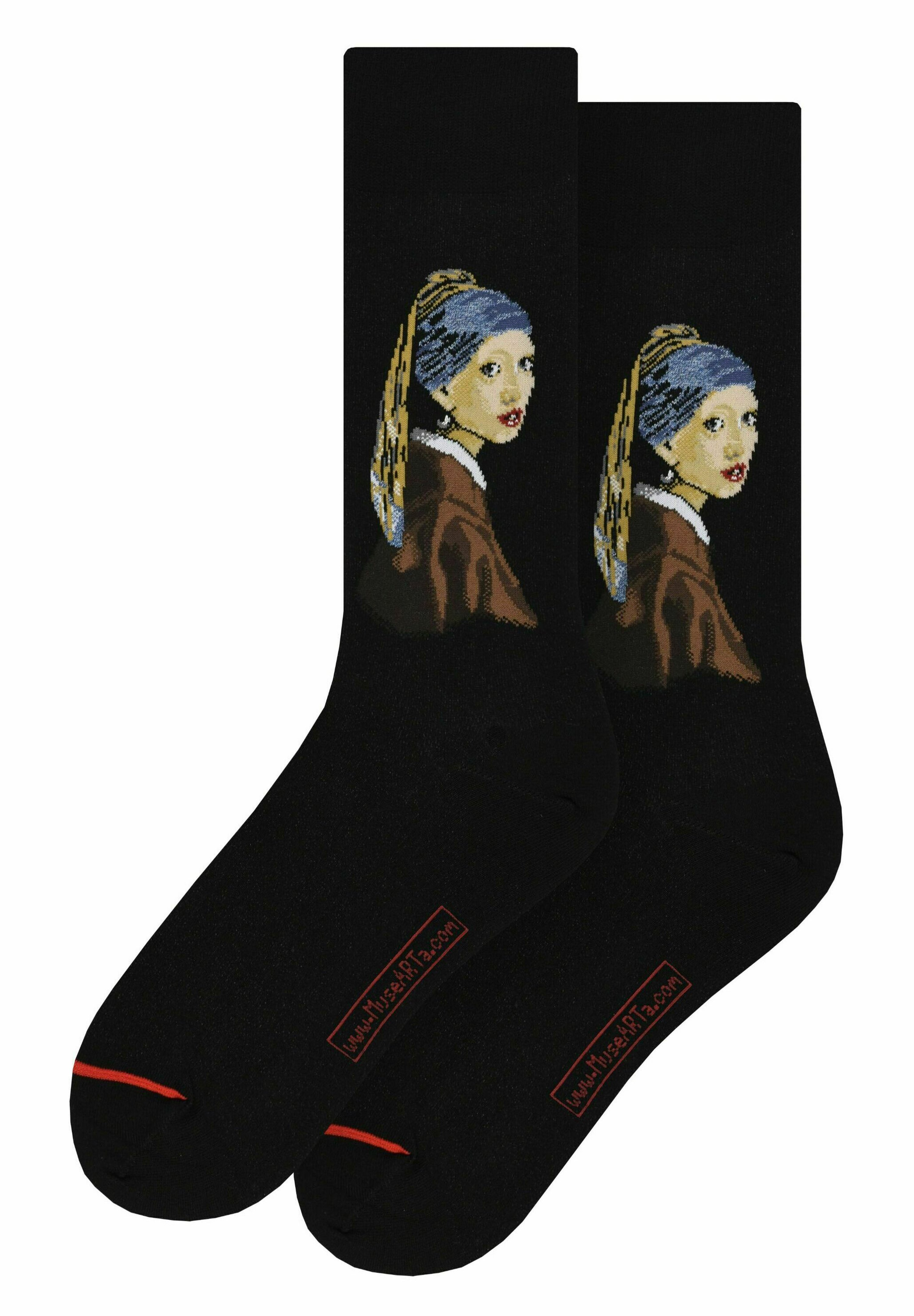 Homme JAN VERMEER : GIRL WITH A PEARL EARRING - Chaussettes