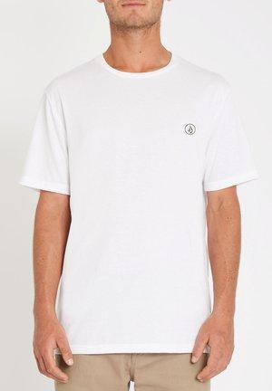 CIRCLE BLANKS HTH SS - Basic T-shirt - white_flash