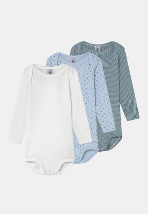 3 PACK - Body - blue/white