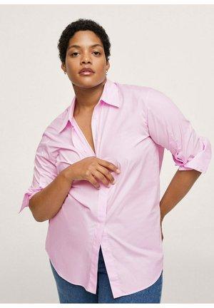 PINK - Button-down blouse - light pink