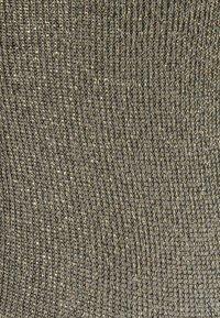 Becksöndergaard - DINA SOLID GLITTER  2 PACK - Socks - medieval blue/gold - 2