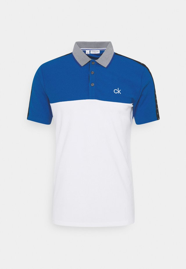 TREVINO  - Polo shirt - white/nautical blue