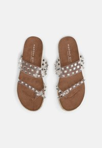 Madden Girl - CASE - T-bar sandals - clear - 4