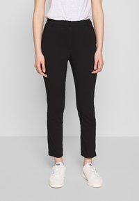 Vila - VIMARIKKA PANTS - Trousers - black - 0