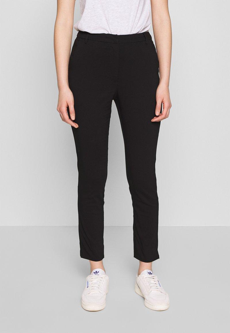 Vila - VIMARIKKA PANTS - Trousers - black