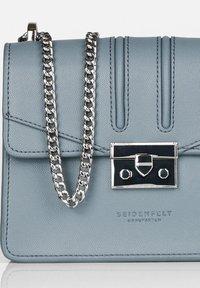 Seidenfelt - Across body bag - shady blue - 2