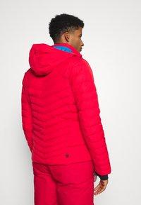 Colmar - Veste de ski - bright red/peacock/black - 2