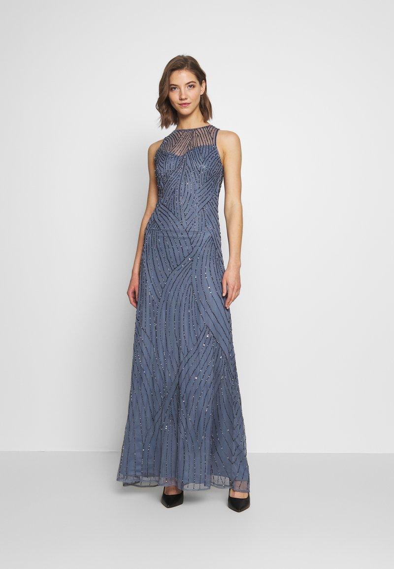 Lace & Beads - RALAH - Suknia balowa - dusty blue
