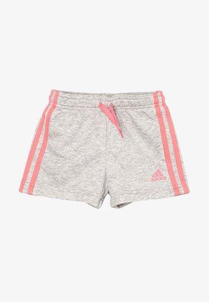 Shorts - medium grey heather/hazy rose
