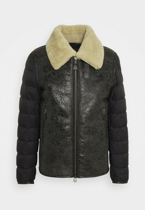 SPALLA IMBOTTITO - Down jacket - black