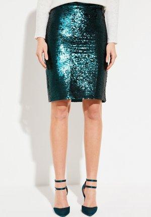 Pencil skirt - green