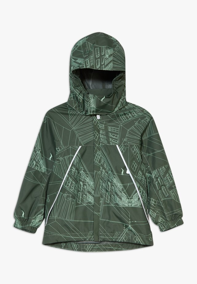 REIMATEC DRAGSVIK - Giacca hard shell - dark green