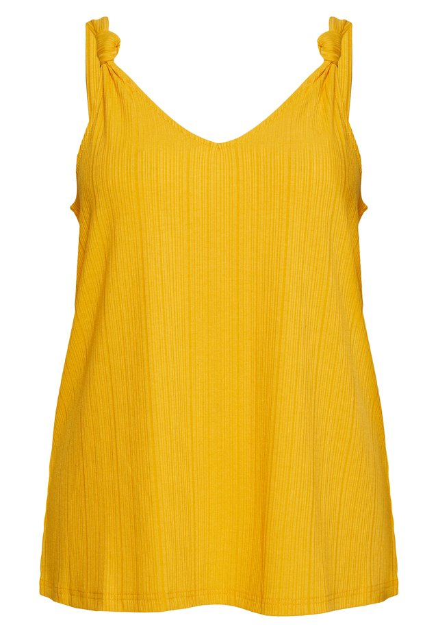MALLY - Top - mineral yellow