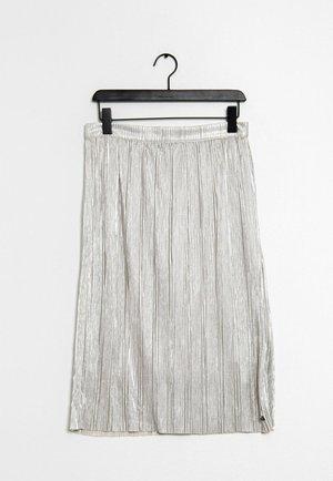 Spódnica ołówkowa  - silver