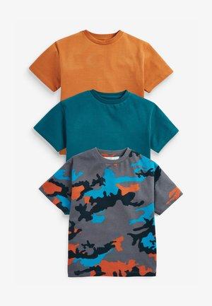 3 PACK CAMOUFLAGE  - T-shirt z nadrukiem - multi-coloured