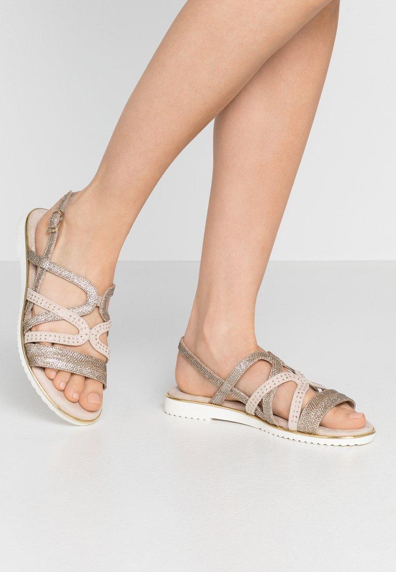 Jana - Sandals - gold metallic