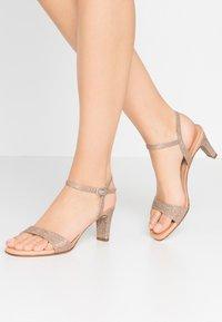 Unisa - MECHI - Sandals - gold - 0