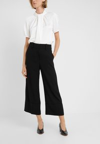 J.CREW - VALENTIN PANT  - Spodnie materiałowe - black - 0