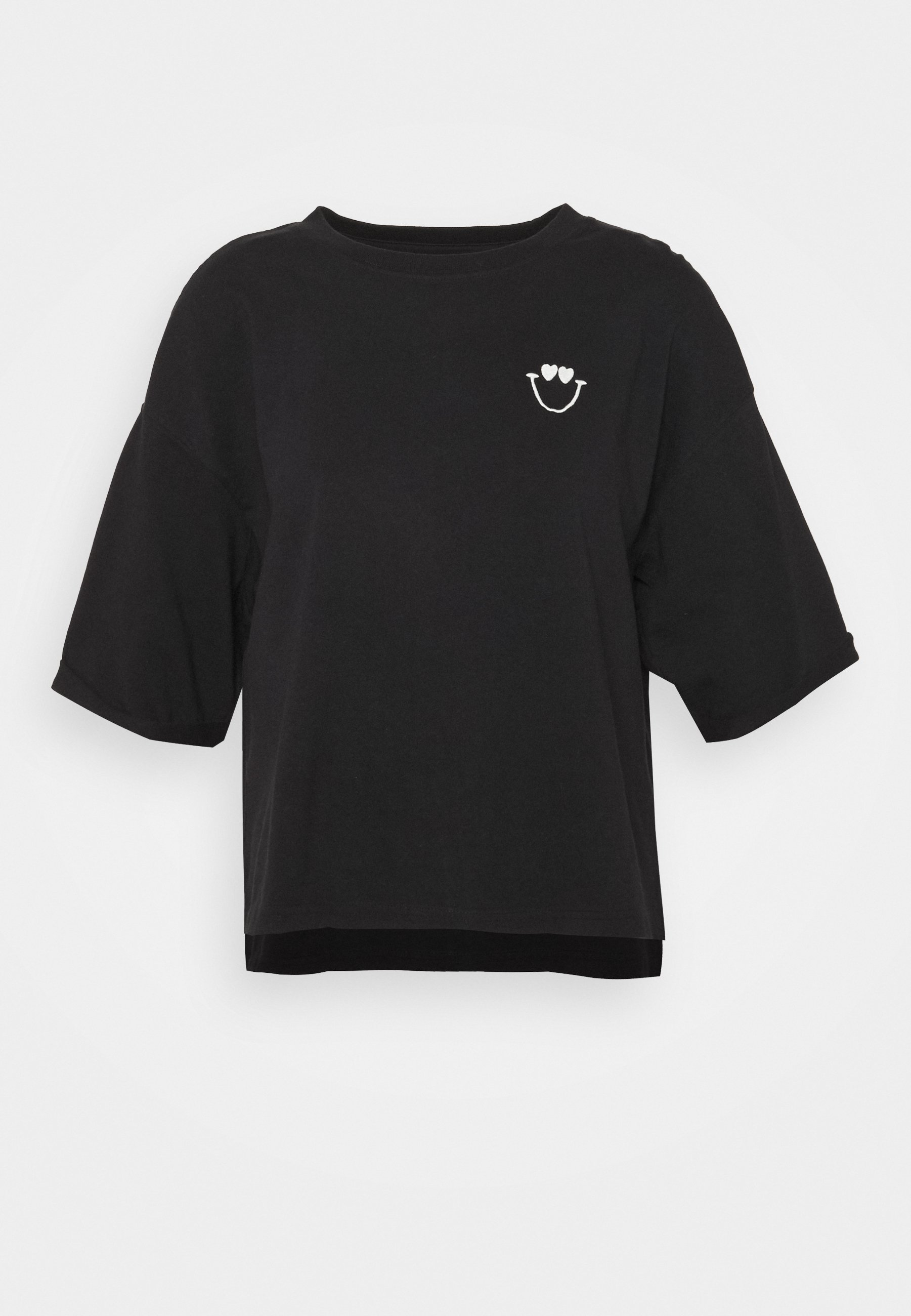 Women SHORT SLEEVE ROUND NECK - Print T-shirt