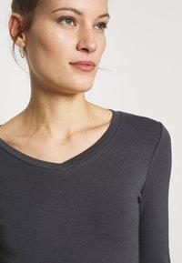 Zign - Long sleeved top - mottled grey - 5