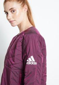 adidas Performance - PADDED - Sports jacket - berry - 6