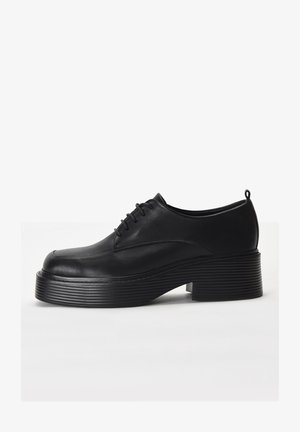 Casual lace-ups - black blk