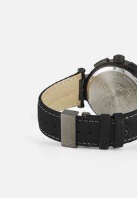 Versace Watches - GRECA - Chronograph watch - black - 1