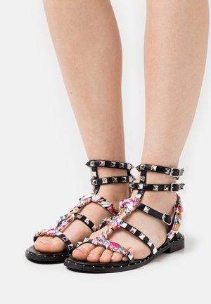 Sandales - nero/multicolor