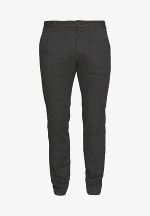 SLHSLIM ARVAL PANTS - Trousers - grey
