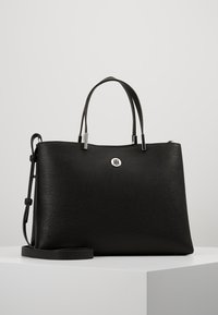 Tommy Hilfiger - CORE SATCHEL - Handbag - black - 0