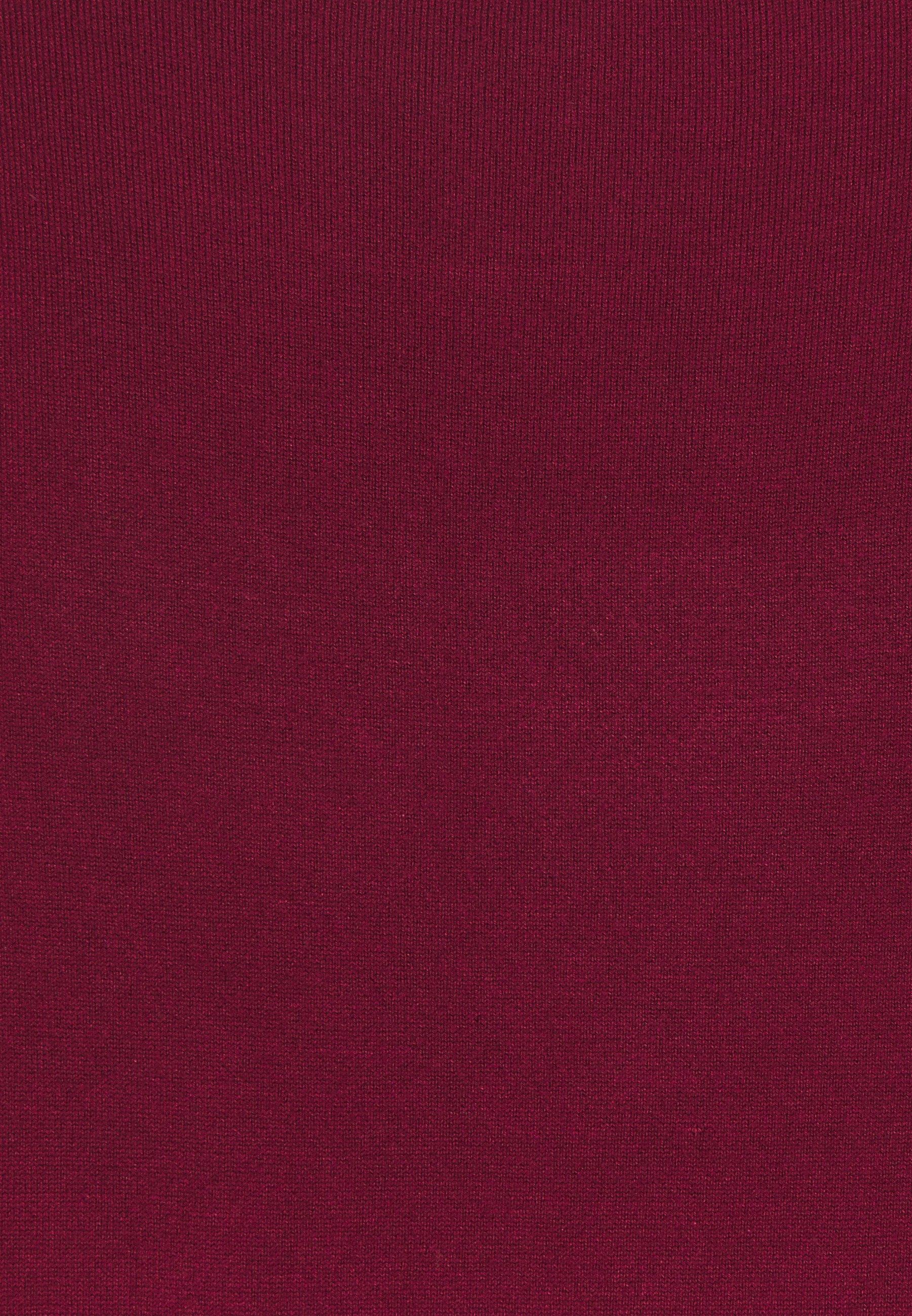 Esprit Collection Eco Vero - T-shirts Bordeaux Red/vinrød