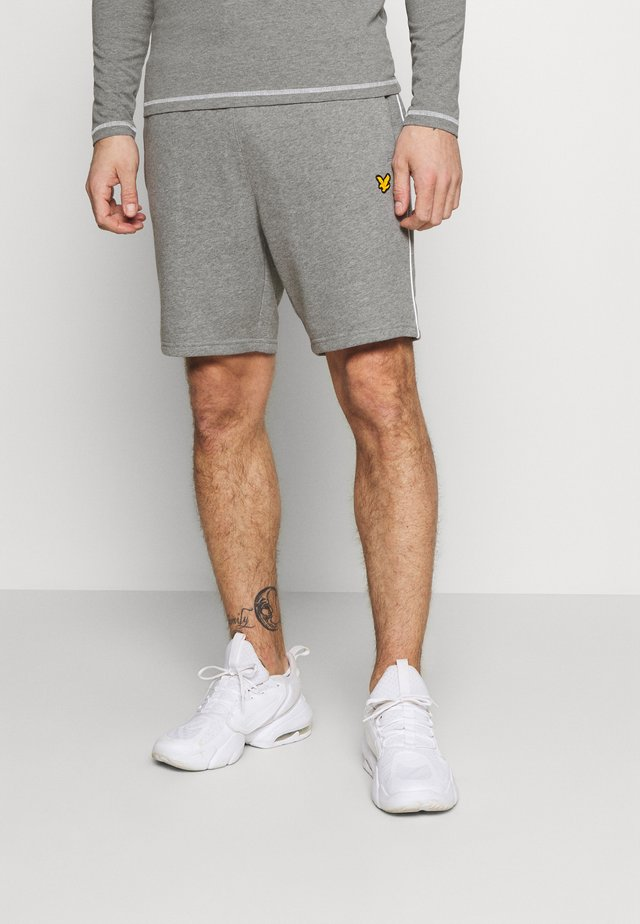Sports shorts - mid grey marl