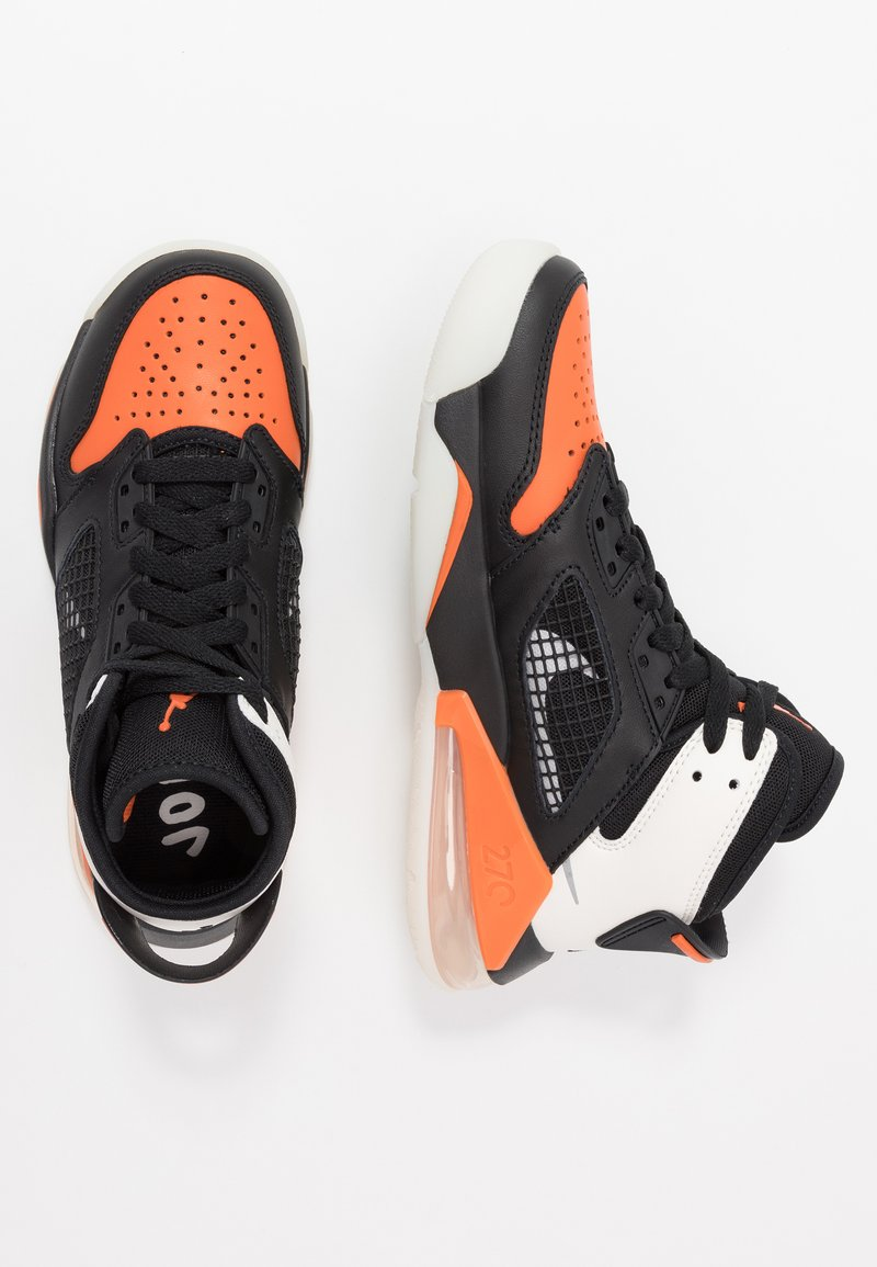 Jordan - MARS - Basketbalové boty - black/reflective silver/starfish/sail
