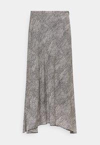 Marc O'Polo PURE - ALINE SKIRT - Áčková sukně - black/white - 0