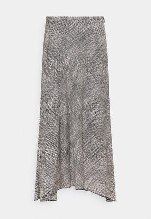 ALINE SKIRT - A-snit nederdel/ A-formede nederdele - black/white