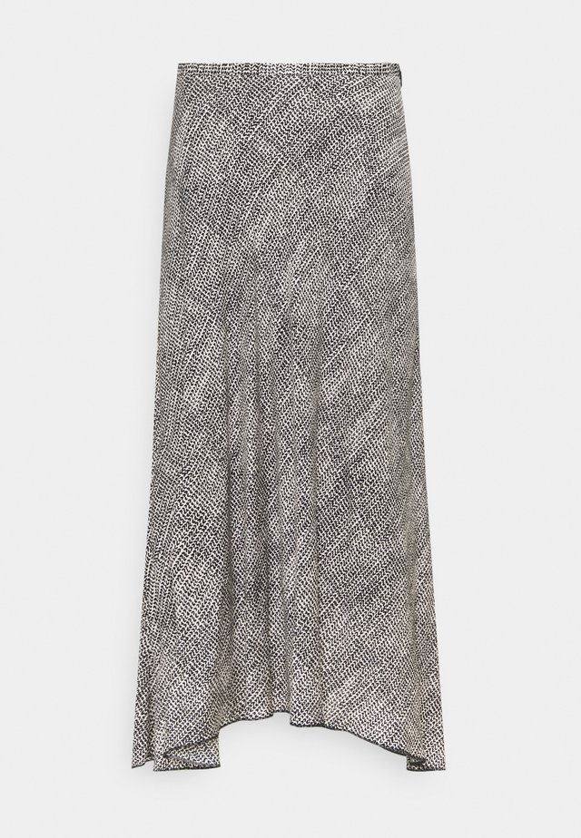 ALINE SKIRT - Jupe trapèze - black/white