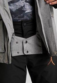 Wearcolour - ROAM JACKET - Snowboardjakke - grey melange - 5