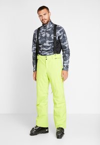 Phenix - ARROW - Pantaloni da neve - yellow green - 2