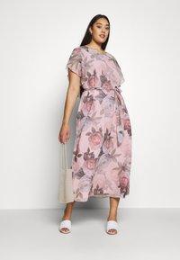 Chi Chi London Curvy - SHANTAL DRESS - Day dress - pink - 1