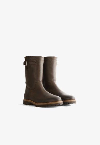 MELDAL - Boots - dark brown