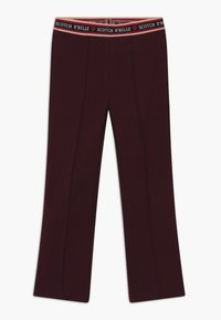 Scotch & Soda - FLARE - Leggings - Trousers - plum - 0