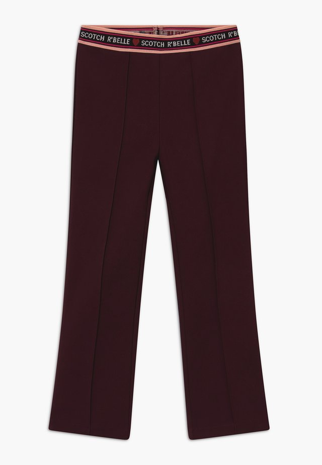 FLARE - Leggings - plum