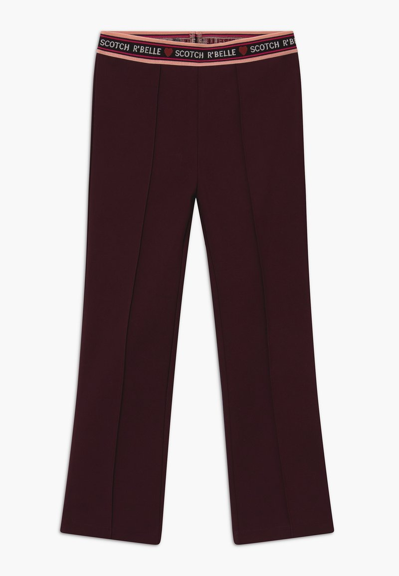 Scotch & Soda - FLARE - Leggings - Trousers - plum