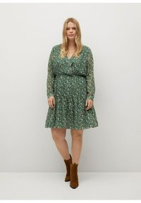 Violeta by Mango - Day dress - grün - 1