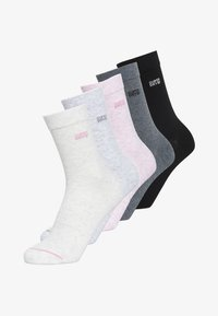 Superdry - FIVE PACK - Socks - oatmeal/pink/ gray marl/anthracite marl/ - 0