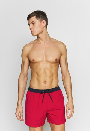 WAVE - Swimming shorts - navy/red