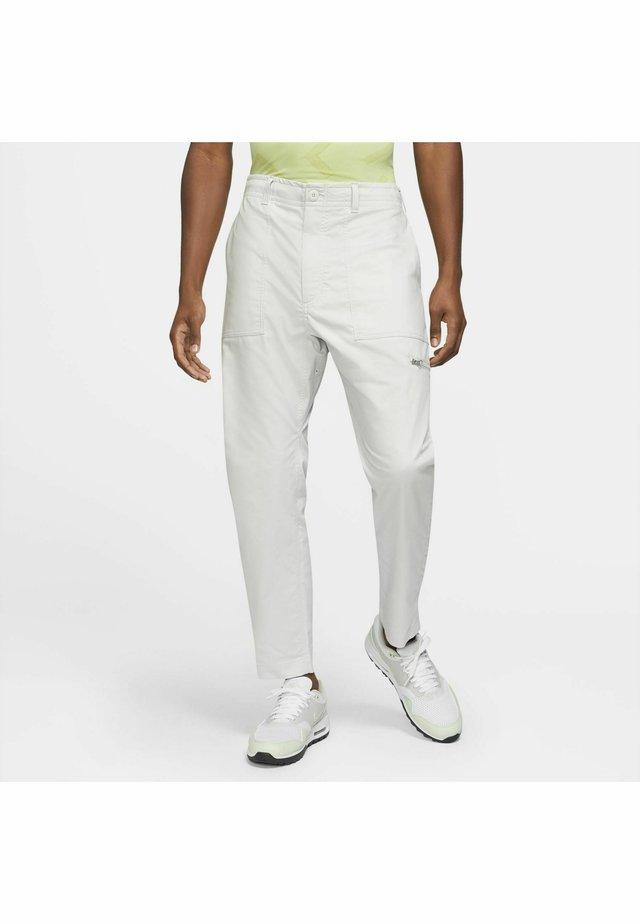 NOVELTY PANT - Spodnie materiałowe - grey
